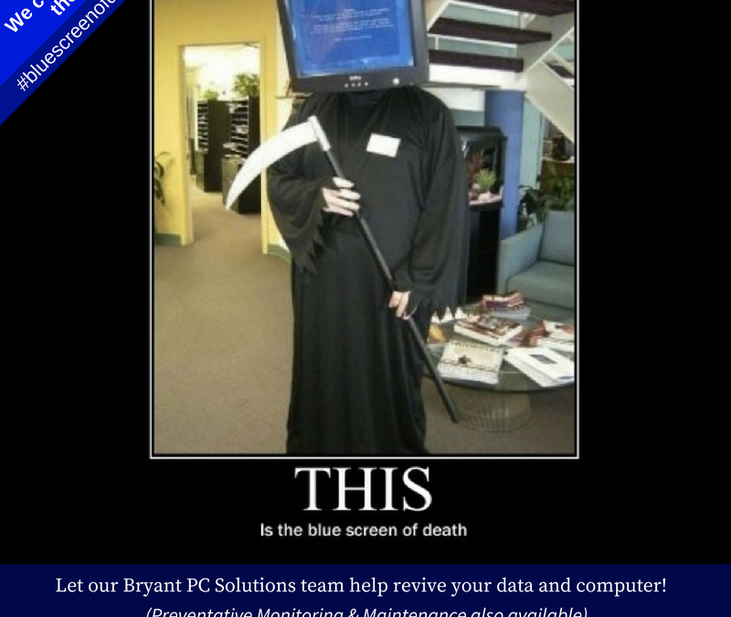 HELP!!!  Blue Screen of Death is Staring At ME!